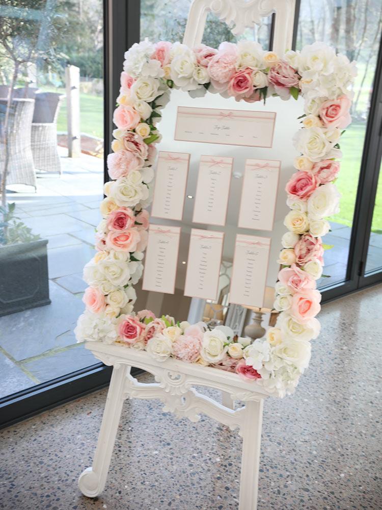 Blush-Floral-Easel-Frame