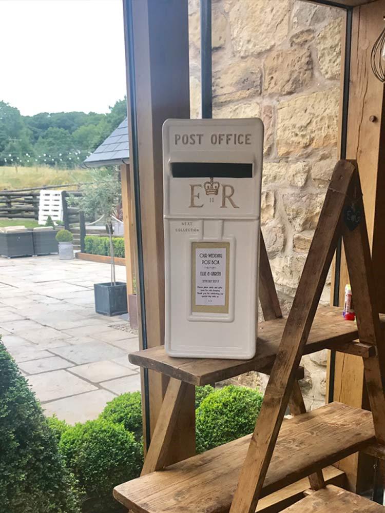 White-Postbox