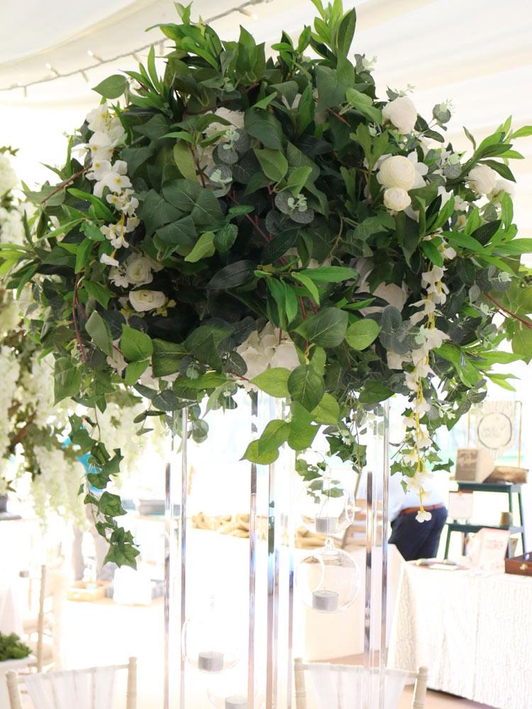 greenery-wisteria-ivory-hydrangea-pomander-2