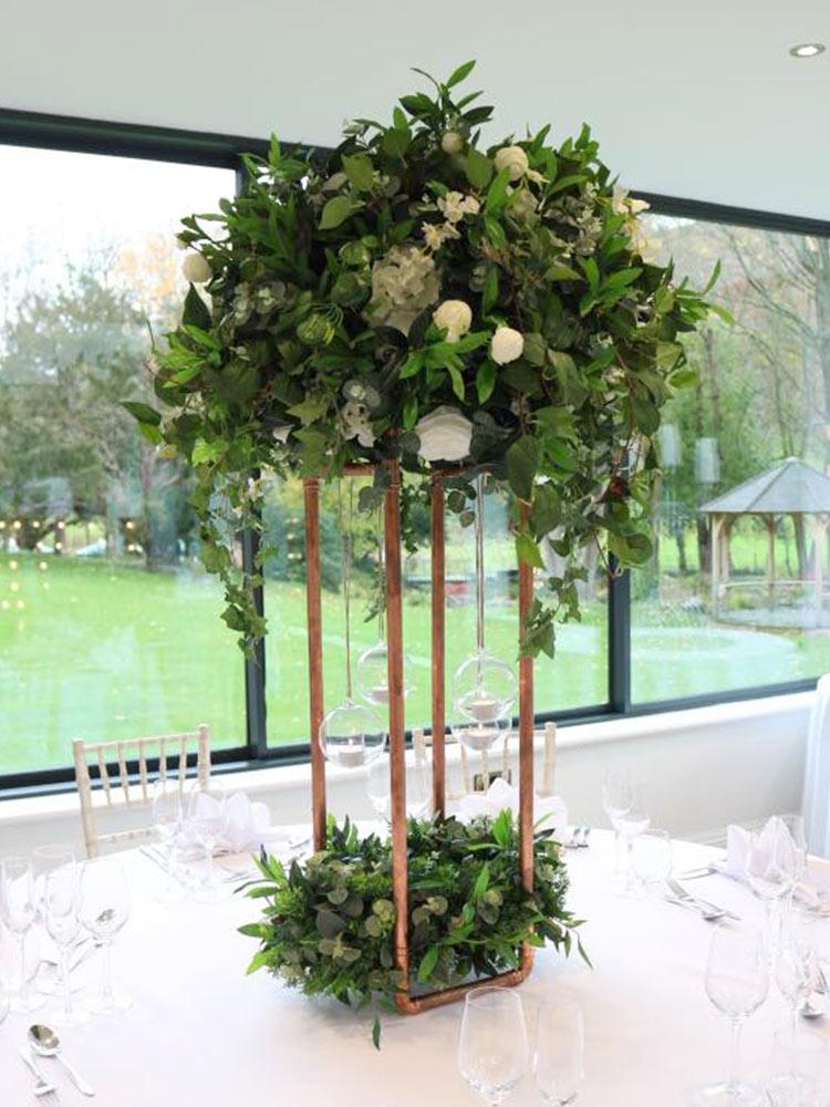 greenery-wisteria-ivory-hydrangea-pomander