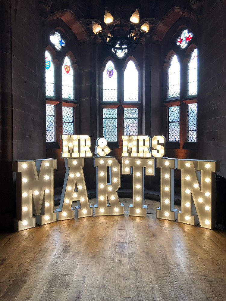 Giant-LED-letters-wedding-hire-Light-up--Wrexham