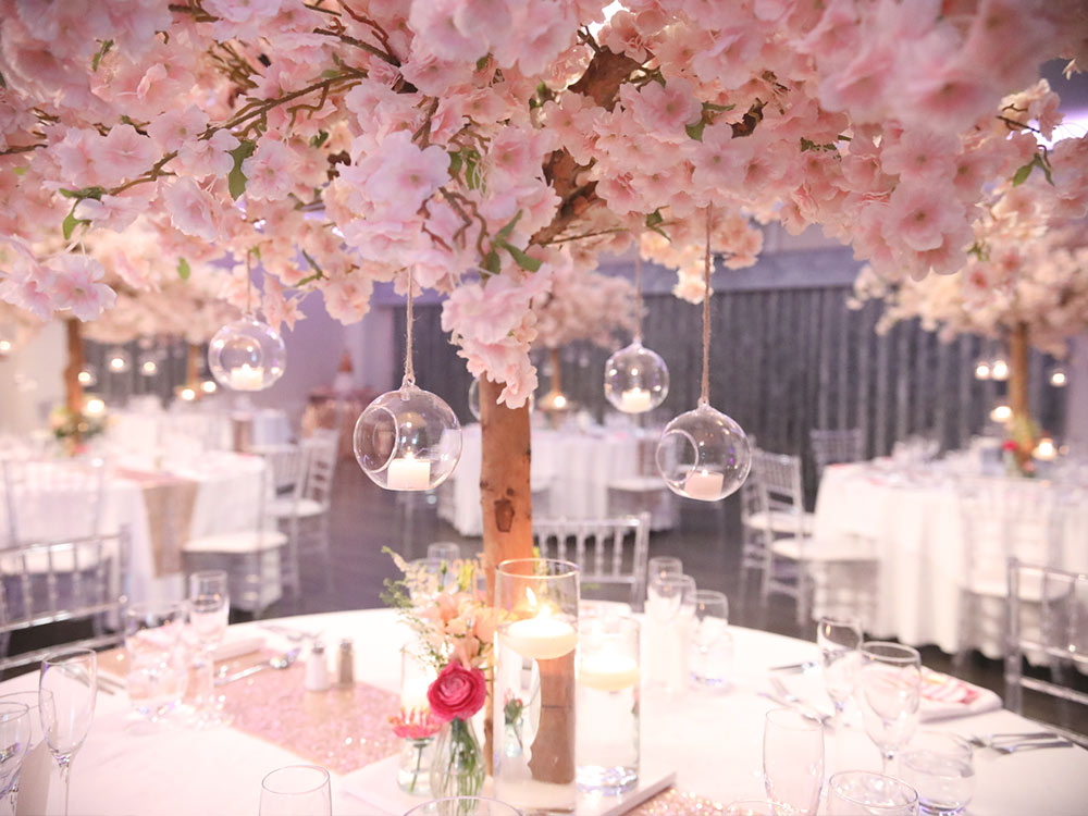 Pink-Blossom-Tree-Hire-Centrepiece-Table-Decor