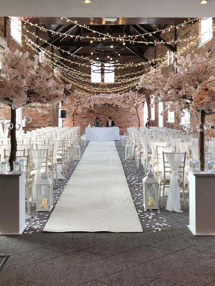 Wedding-Event-Hire---Aisle-Decor-Venue-Dressing-Blossom-Tree-Hire